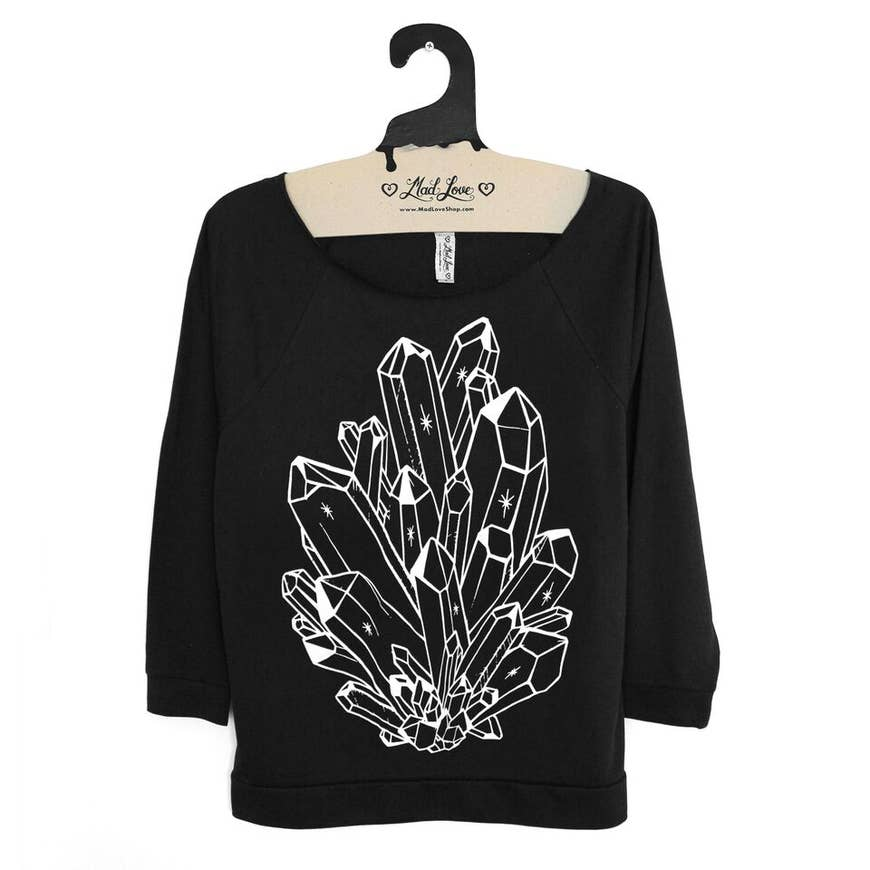 Crystals Long Sleeve Top - Eco-friendly