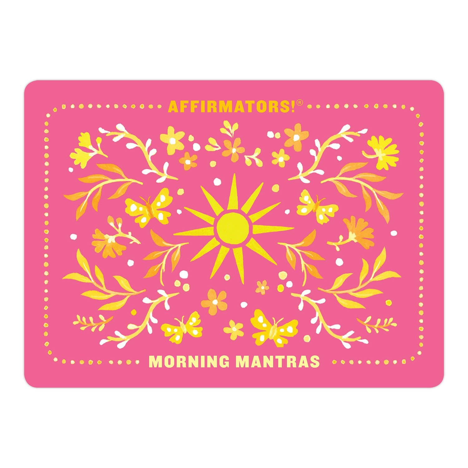Affirmators! Morning Mantras Affirmators Mantras Deck | Positive Affirmations