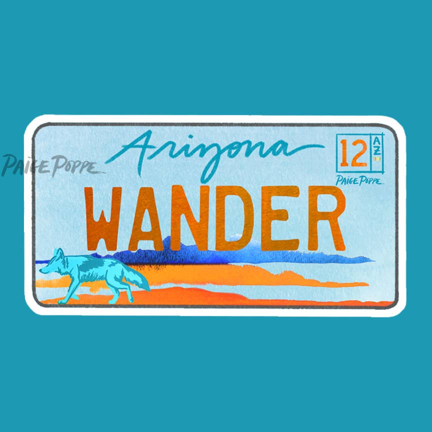 Arizona Wander Sticker