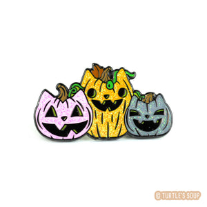 Pumpkitten Patch Enamel Pin