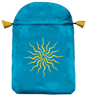 Sunlight Satin Tarot Card Bag