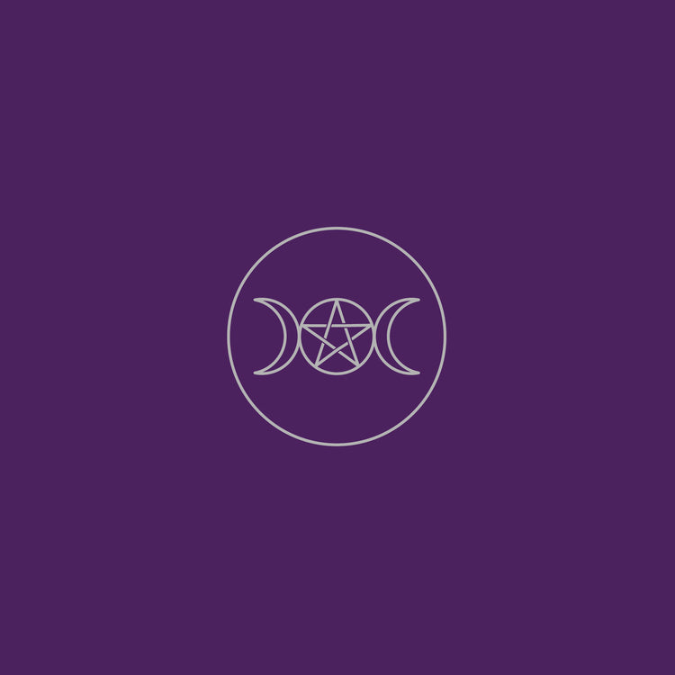 Pagan Circle Velvet Tarot Cloth