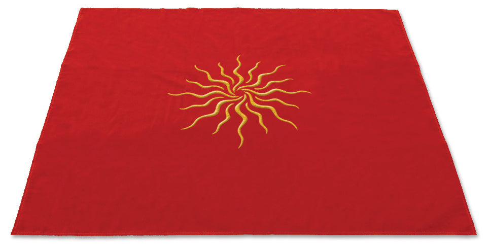 Sun Velvet Tarot Cloth