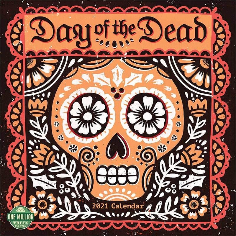 Day of the Dead 2021 Wall Calendar