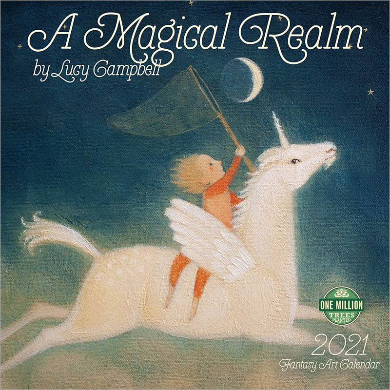Magical Realm 2021 Wall Calendar