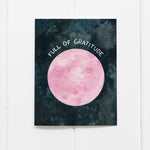 Full Moon Thank You Greeting Card