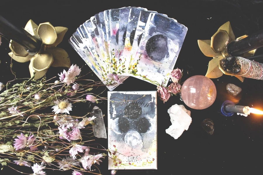 Wild Moon Lunar Phase Deck