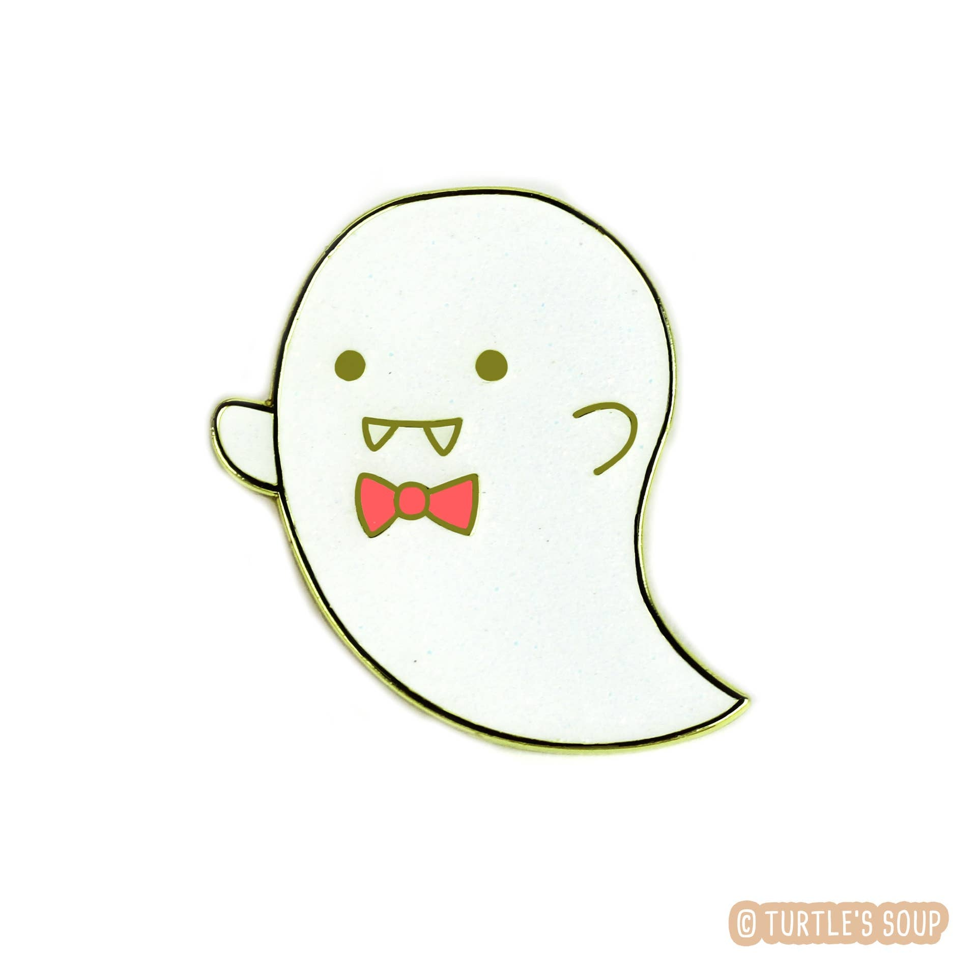 Cute Little Ghost Enamel Pin