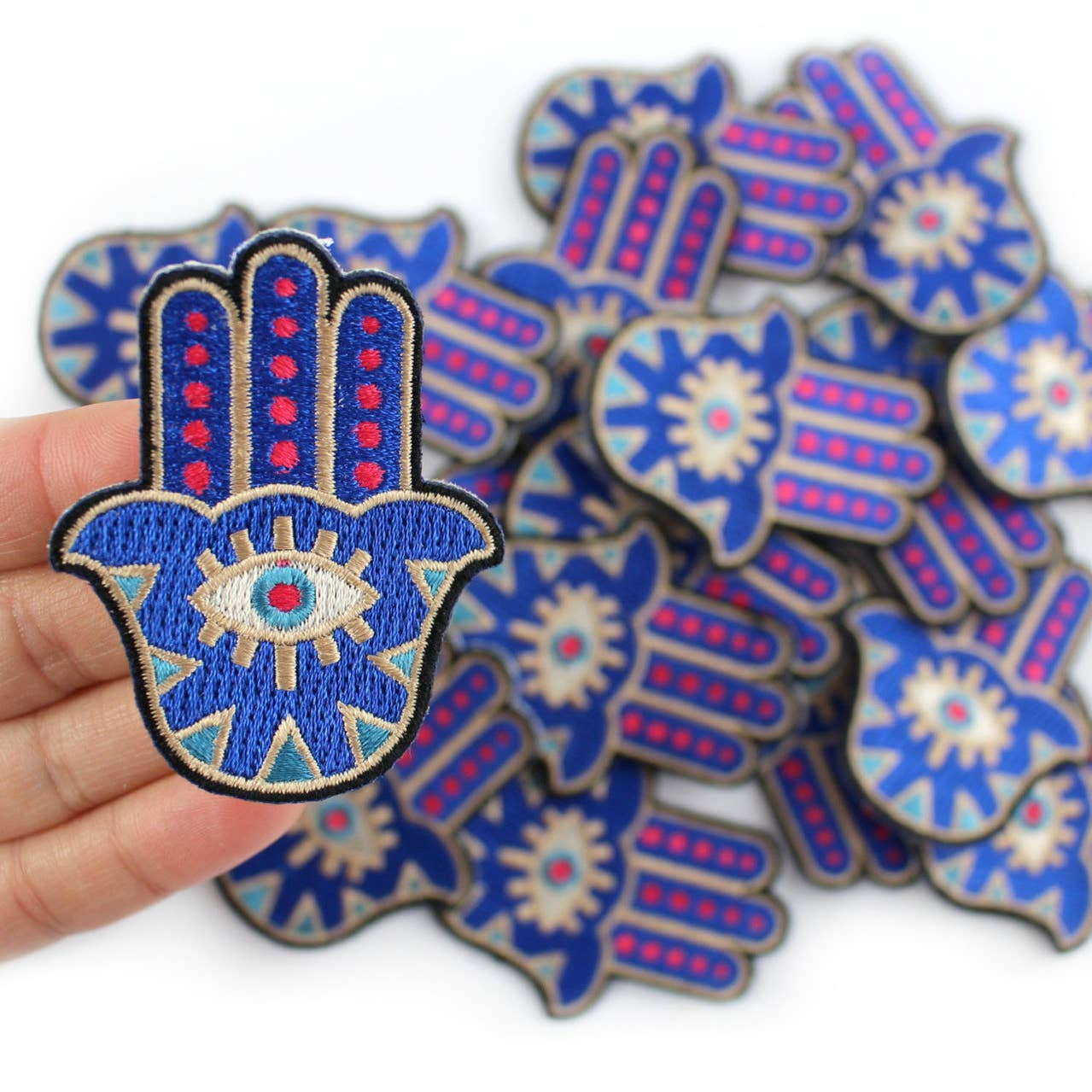 Hamsa Embroidered Patch