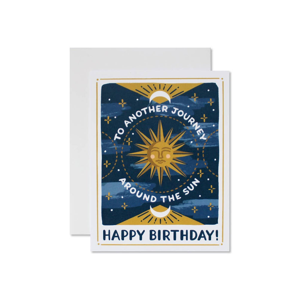 Celestial Birthday Card