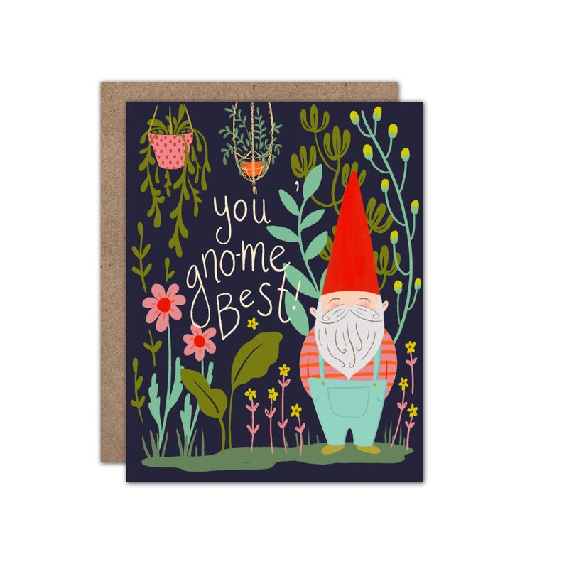 You Gno-Me Best Card Friendship Greeting Card