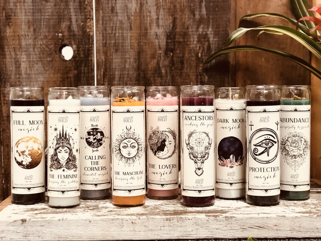 Spell ritual candles