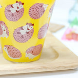 Hedgehog Glass Cup