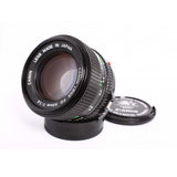 Canon FD 50mm f1.4 lens 1984 Olympic version