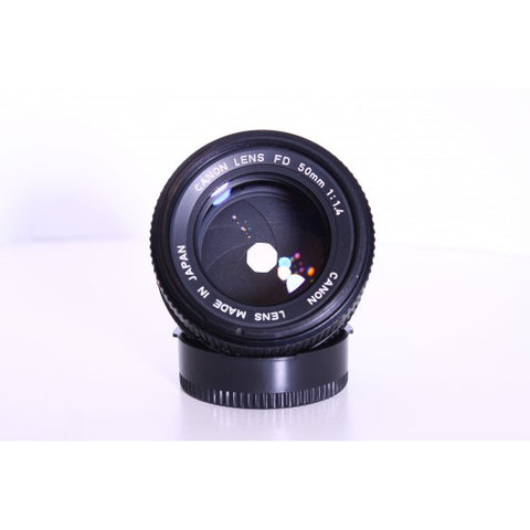 Canon FD 50mm f1.4 lens