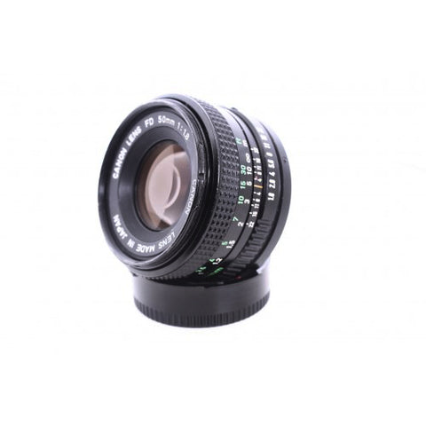 Canon FD 50mm f1.8 lens