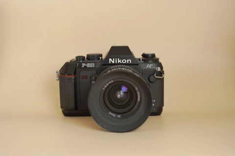 Nikon F-501 AF with AF Nikkor 35-70mm f3.3-4.5