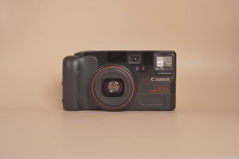 Canon Autoboy Zoom 105 only can shot in 35mm