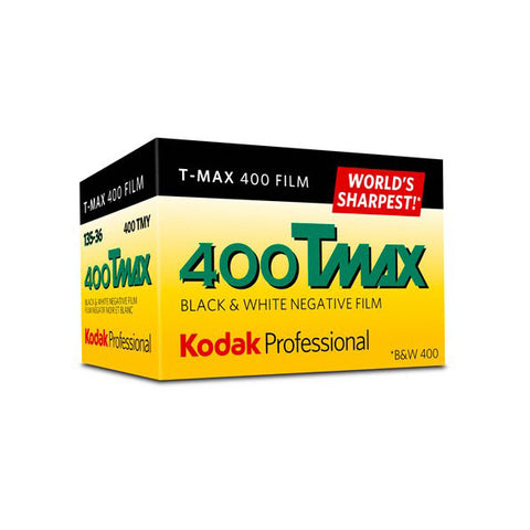 Kodak T-Max 400, 400TMY, Black & White Negative Film ISO 400, 35mm Size, 36 Exposure
