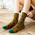 Japan Pattern Socks  (Red / Green / Blue)