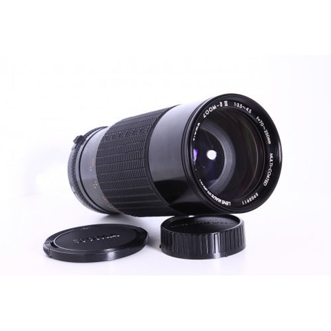 Sigma MC zoom-II 70-250mm f3.5-4.5 MD mount