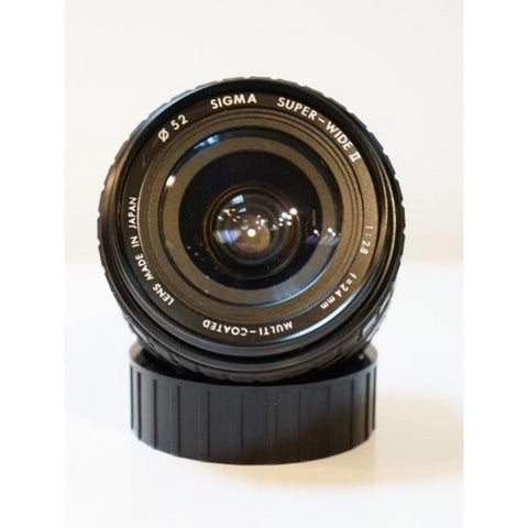 Sigma Super Wide 24mm f2.8 lens