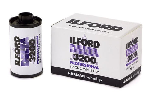 Ilford Delta Pro 3200 High Speed Black and White