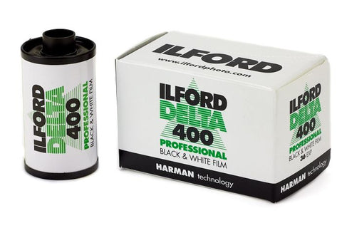 Ilford Delta Pro 400 Fast Fine Grain Black and White Film