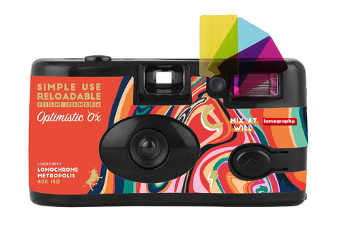 Lomography Simple Use Reloadable Optimistic Ox