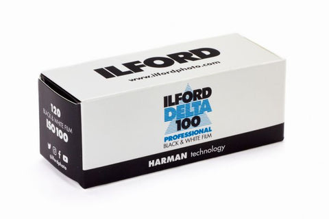 Ilford Delta Pro 100 120 Fine Grain Medium Speed