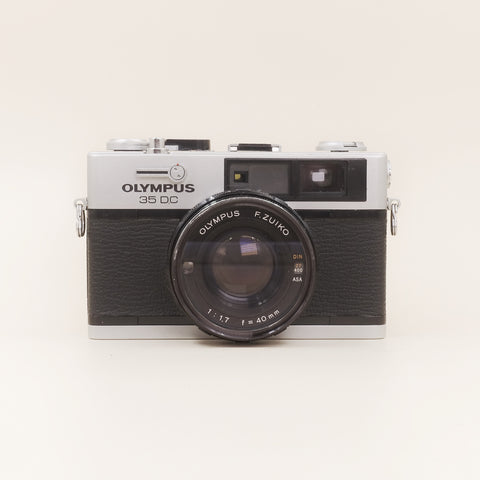 Olympus 35DC with leather case