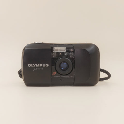 Olympus Mju with leather bag