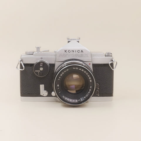 Konica Autorex with 52mm F1.8
