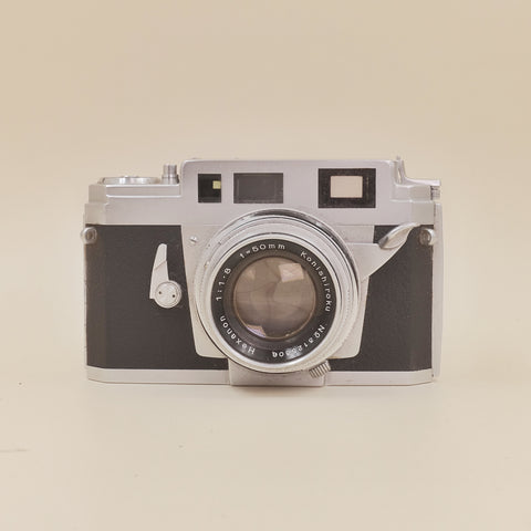 Konica IIIa with cap