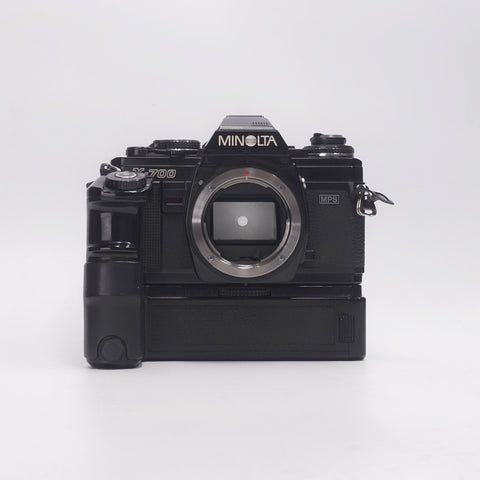 Minolta X700 Body with Battery Grip