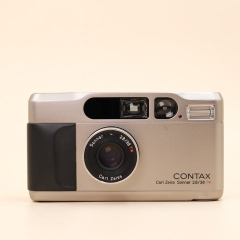 Contax t2 with bag