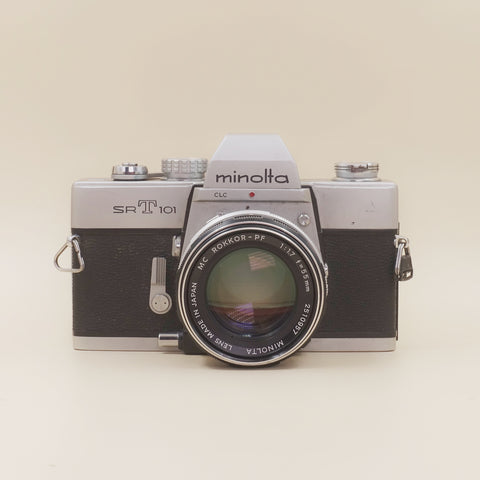 Minolta SRT101 with 55mm F1.7