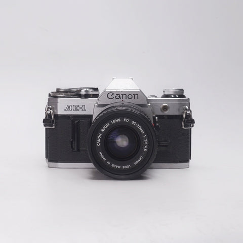 Canon AE-1 with 35-70mm F3.5-4.5