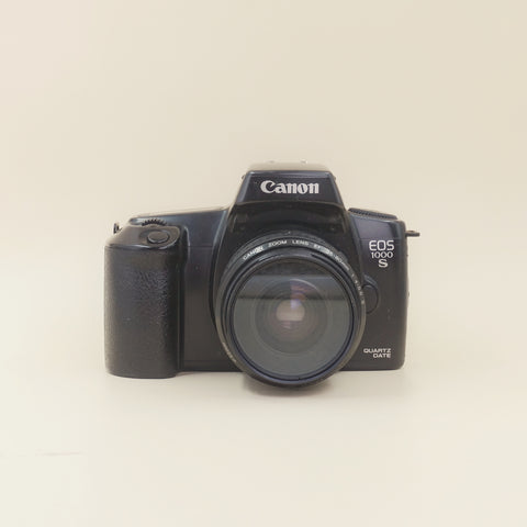 canon EOS 1000s with 35-80mm  F4-5.6