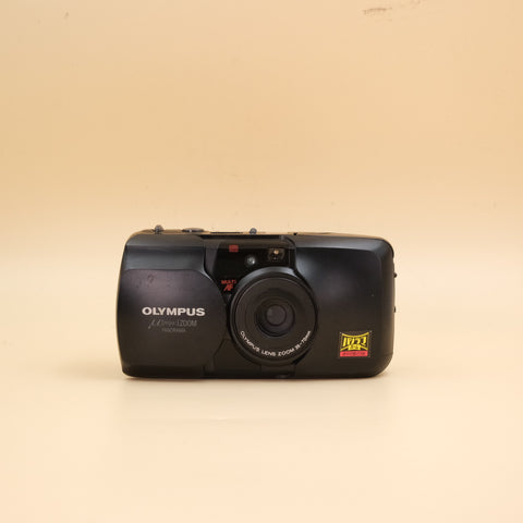 Olympus Mju zoom panorama black