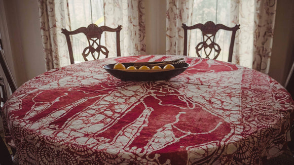 Elephant Tablecloth