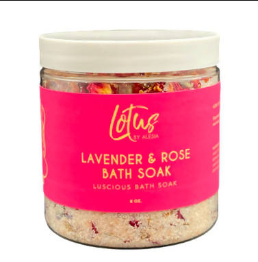 Lavender & Rose Bath Soak