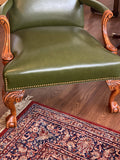 Vintage Rosewood Martha Washington Chair