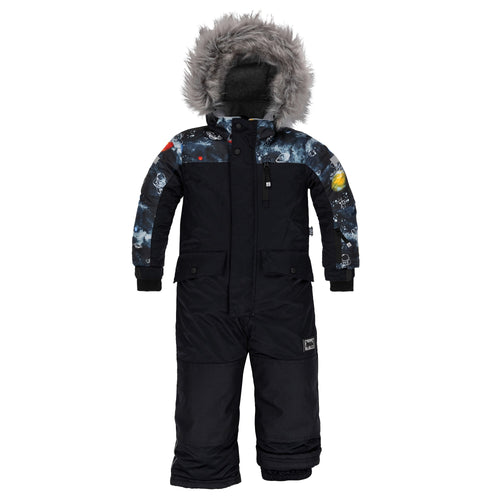 Deux Par Deux 1pc. Snowsuit- Anthracite