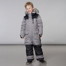 Load image into Gallery viewer, Deux Par Deux 1pc. Snowsuit- Grey - 2