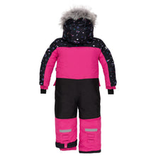 Load image into Gallery viewer, Deux Par Deux 1pc. Snowsuit- Pink Peacock - 2