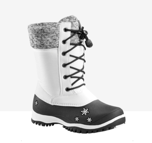 Baffin Avery White Winter Boot