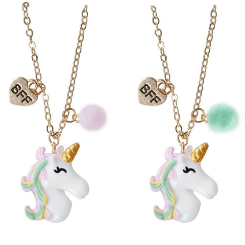 Unicorn BFF Necklace Set