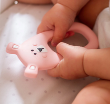 Load image into Gallery viewer, Little Cheeks Bear Teether
