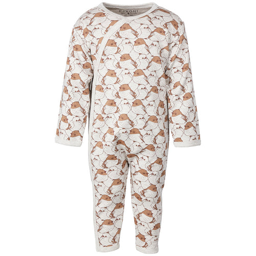 Fixoni Tan Bird Playsuit